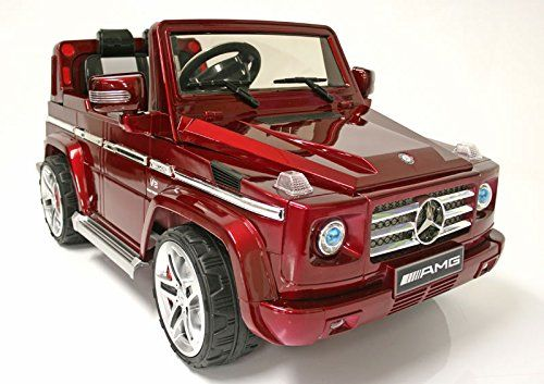 2017 Licensed Mercedes Benz G55 Amg Suv 12v Wheels Remote Control Ride On Electric Toy Car For Kids