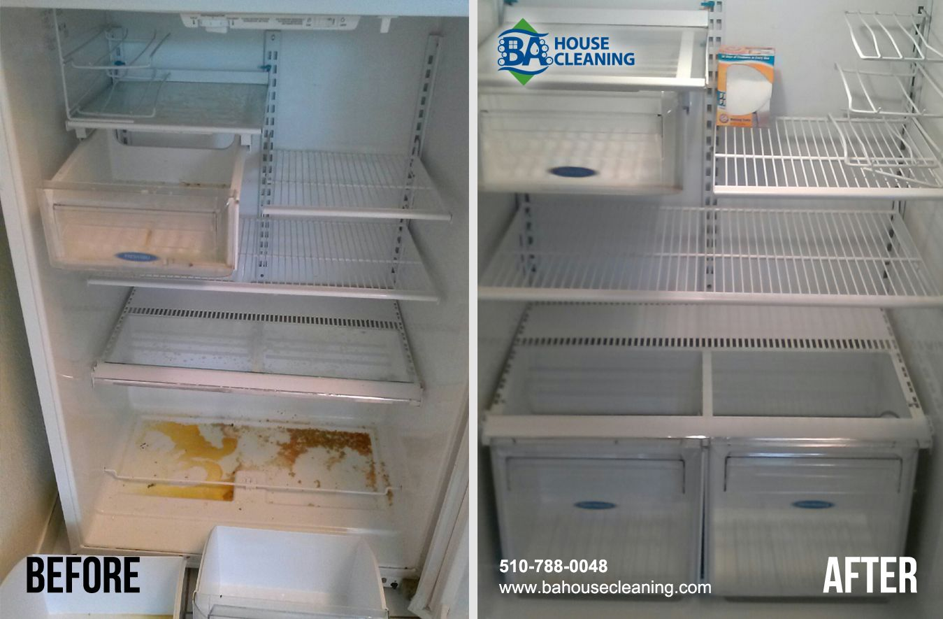 Before And After By Ba House Cleaning Fridge Clean House Cleaning French Door Refrigerator