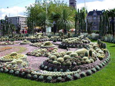 paradis express The Cactus Garden, Carl Johans Park, Norrkoping - paroi anti bruit exterieur