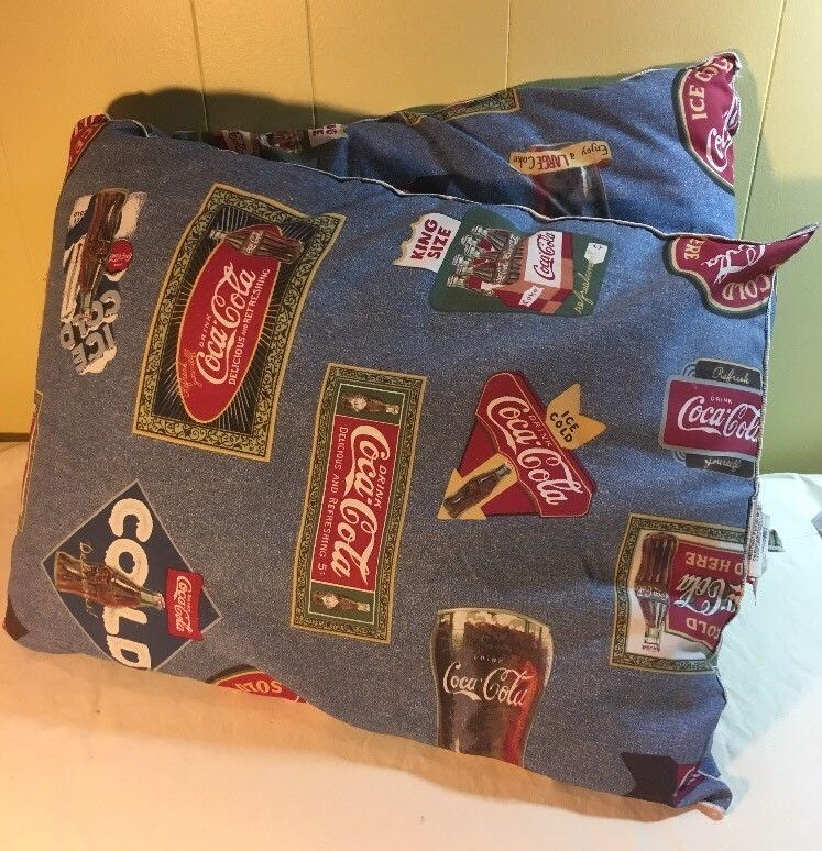 Coca Cola Body Pillow Huge 48 Long 18 Wide Genuine Coca Cola