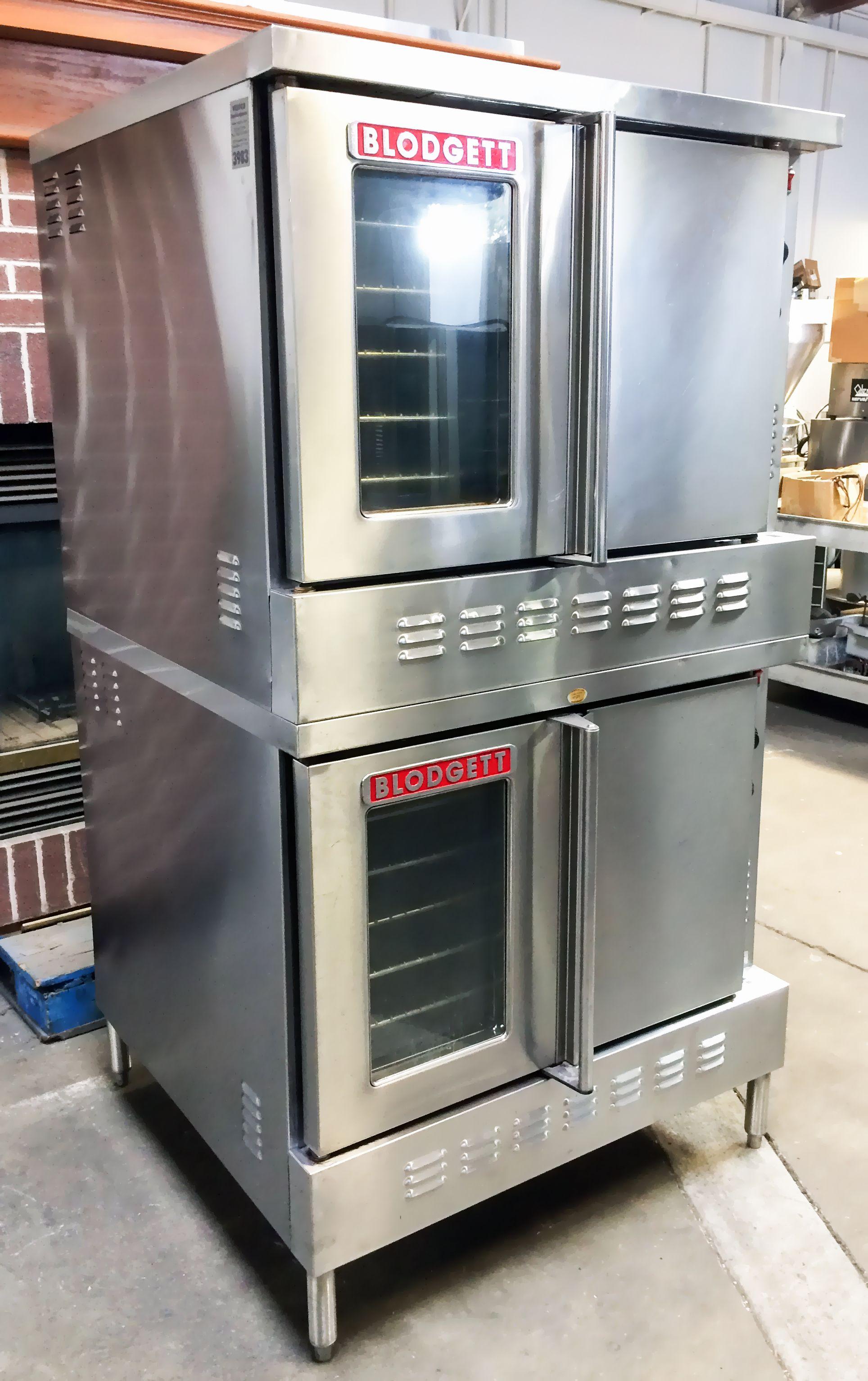 Restaurant Bakery Equipment Blodgett SH1G/AA Full Size Double Stack on