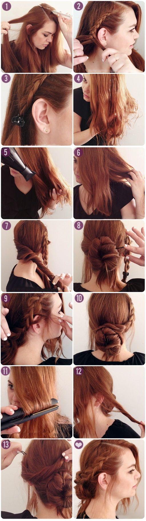 Peinados Faciles Para Pelo Largo Peinado Facil Pelo Largo Y Peinados - Peinado-facil-pelo-largo