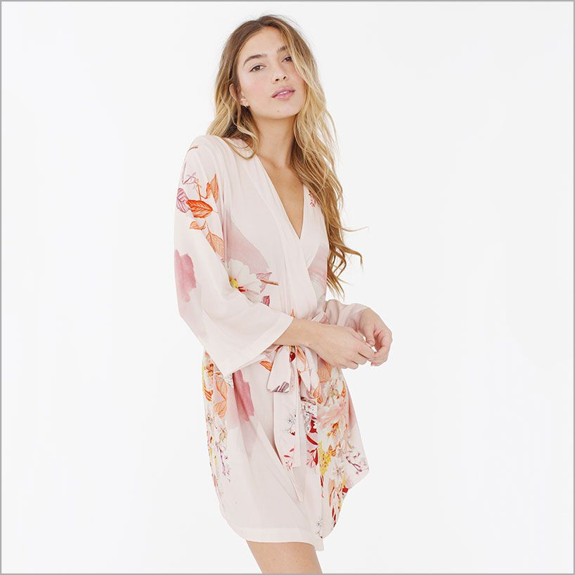 Knee Length Robe. Neverland | Neverland, Dressing gown and Mariage