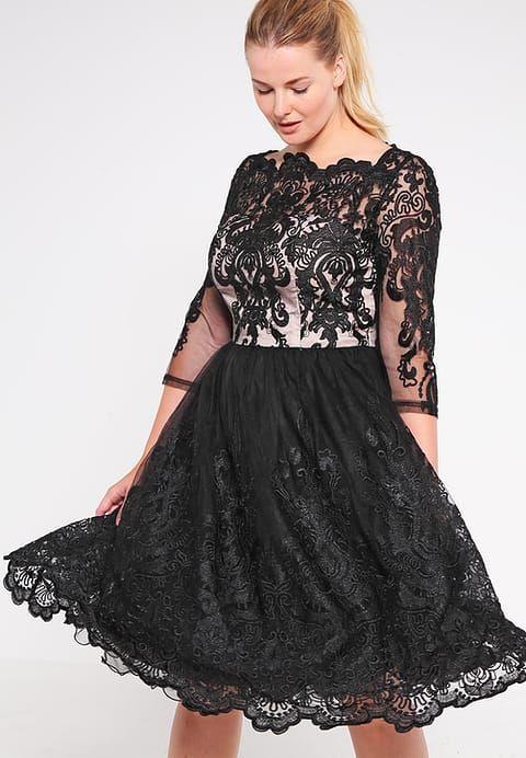 Zalando Cocktailjurk Zwart.Evette Cocktailjurk Black Nude Clothing Plus Size Dresses