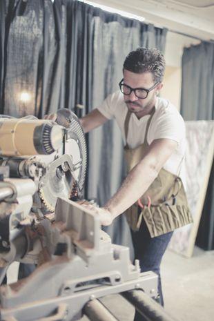 Custom Furniture & Lighting Maker Sean Woolsey http://www.seanwoolsey.com/ via Grain & Gram http://bit.ly/ixuSwe