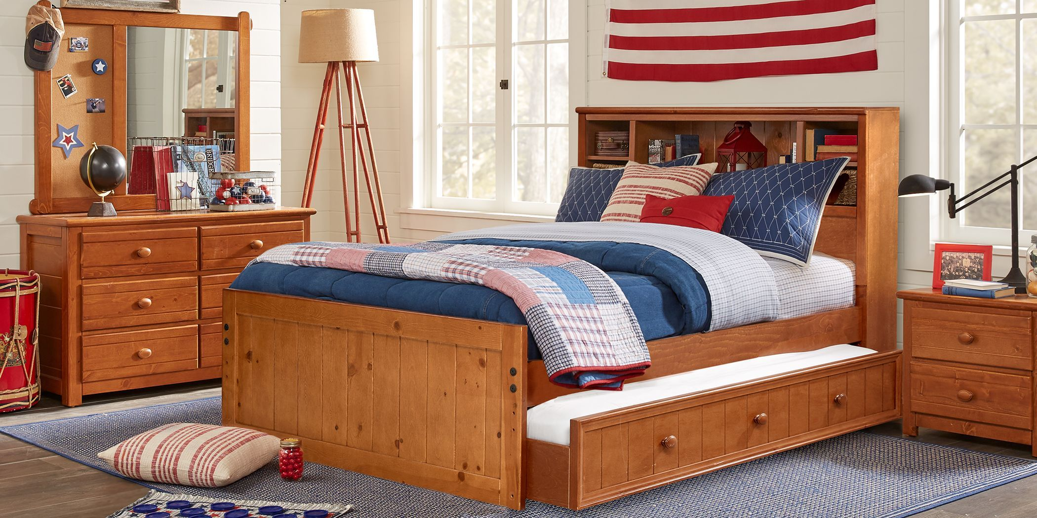 Kids Creekside Taffy 6 Pc Full Bookcase Bedroom Bedroom Furniture Stores Kids Furniture Stores Bedroom Furniture Sets