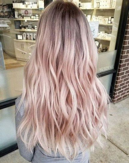 Hair Pink Pastel Shades 50 Ideas For 2019 Light Pink Hair Pink Blonde Hair Hair Color Pastel