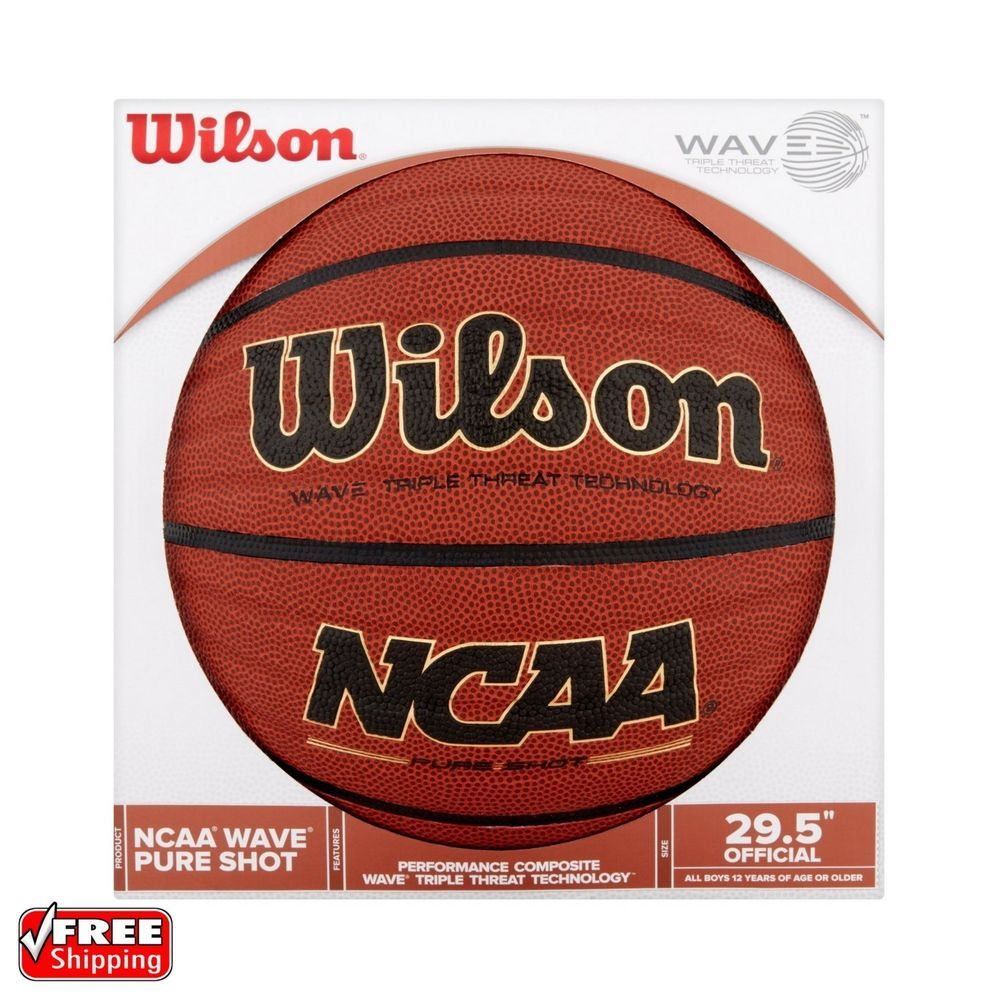 """Details about Wilson NCAA Wave 29.5"""" Official Microfiber"""