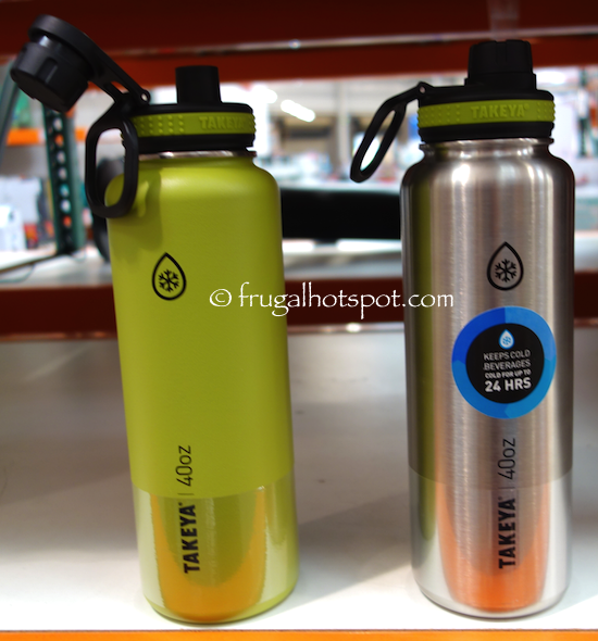 2f8024f57f Takeya ThermoFlask Stainless Steel Water Bottles 2-Pack. #Costco  #FrugalHotspot