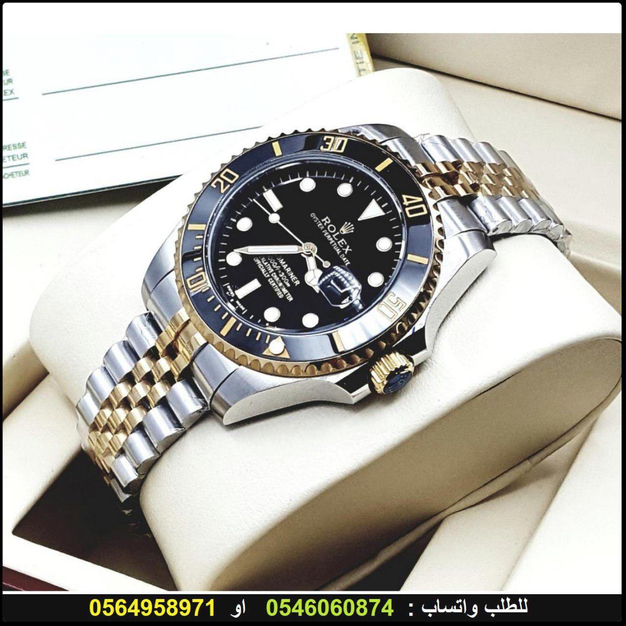 ساعات رولكس سمرينا رجاليه Rolex درجه اولى مع علبه و كرت الماركه هدايا هنوف Rolex Watches Rolex Accessories