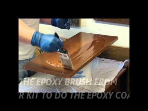 Photo Video Diy Countertop Bar Top And Flooring Epoxy