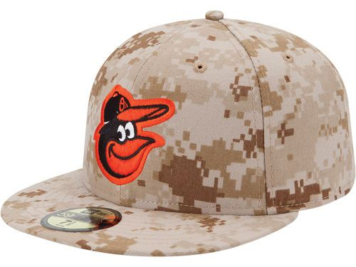 2cd159d7ba5 Baltimore Orioles New Era MLB 2013 Memorial Day Stars   Stripes 59FIFTY Cap  Hats