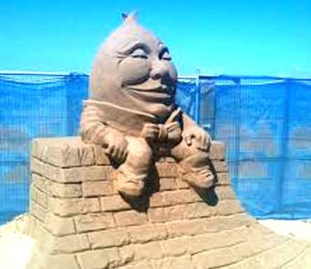 Humpty Dumpty Sandcastles