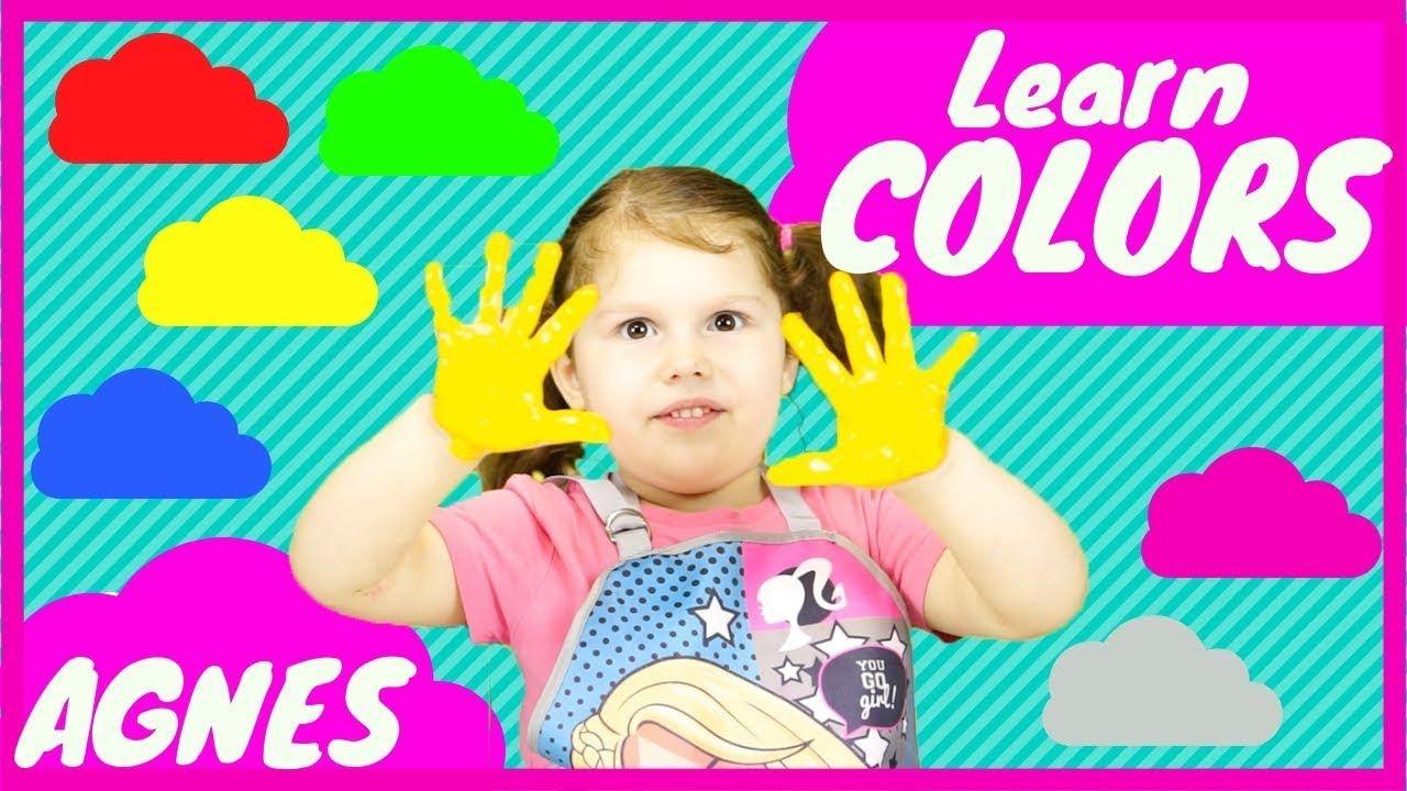 Colors Song Nursery Rhymes Educational Video For Kids Baby