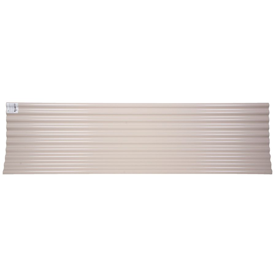 Tuftex Seacoaster 2 17 Ft X 12 Ft Corrugated Pvc Roof Panel Roof Panels Plastic Roofing Corrugated Plastic