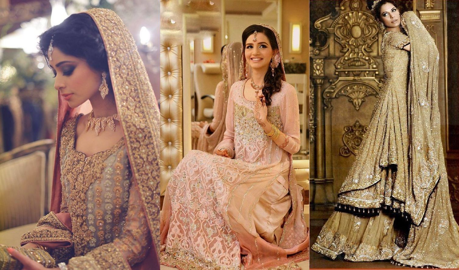 Latest Styles & Designs of Bridal Walima Dresses