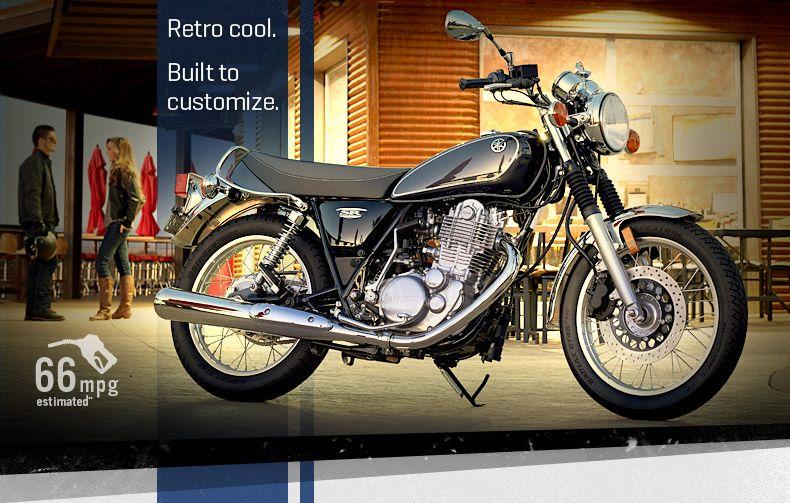 2015 Yamaha SR400 love this easy rider wheels