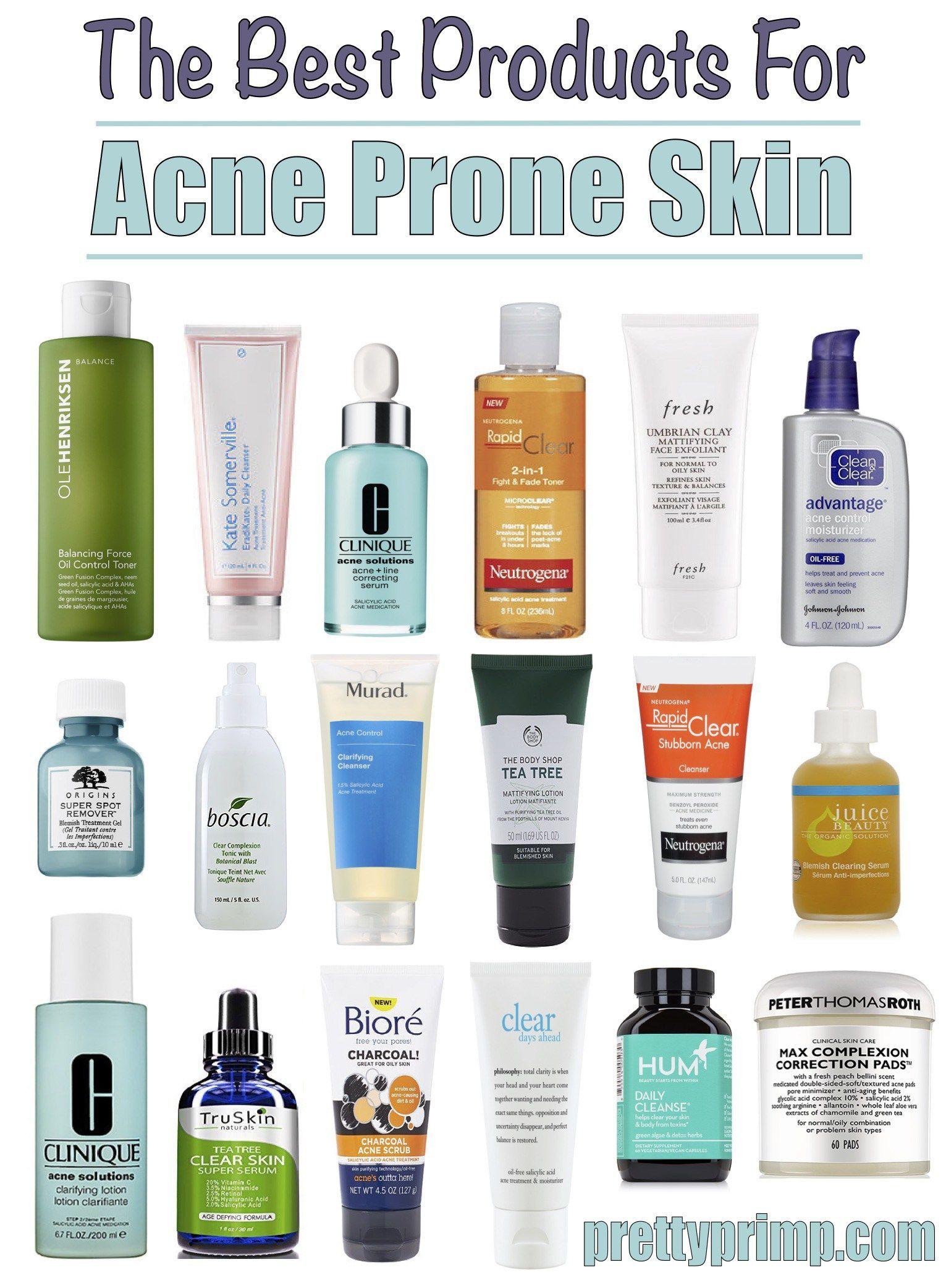 skincare for acne prone skin #SkincareHacks | Best acne