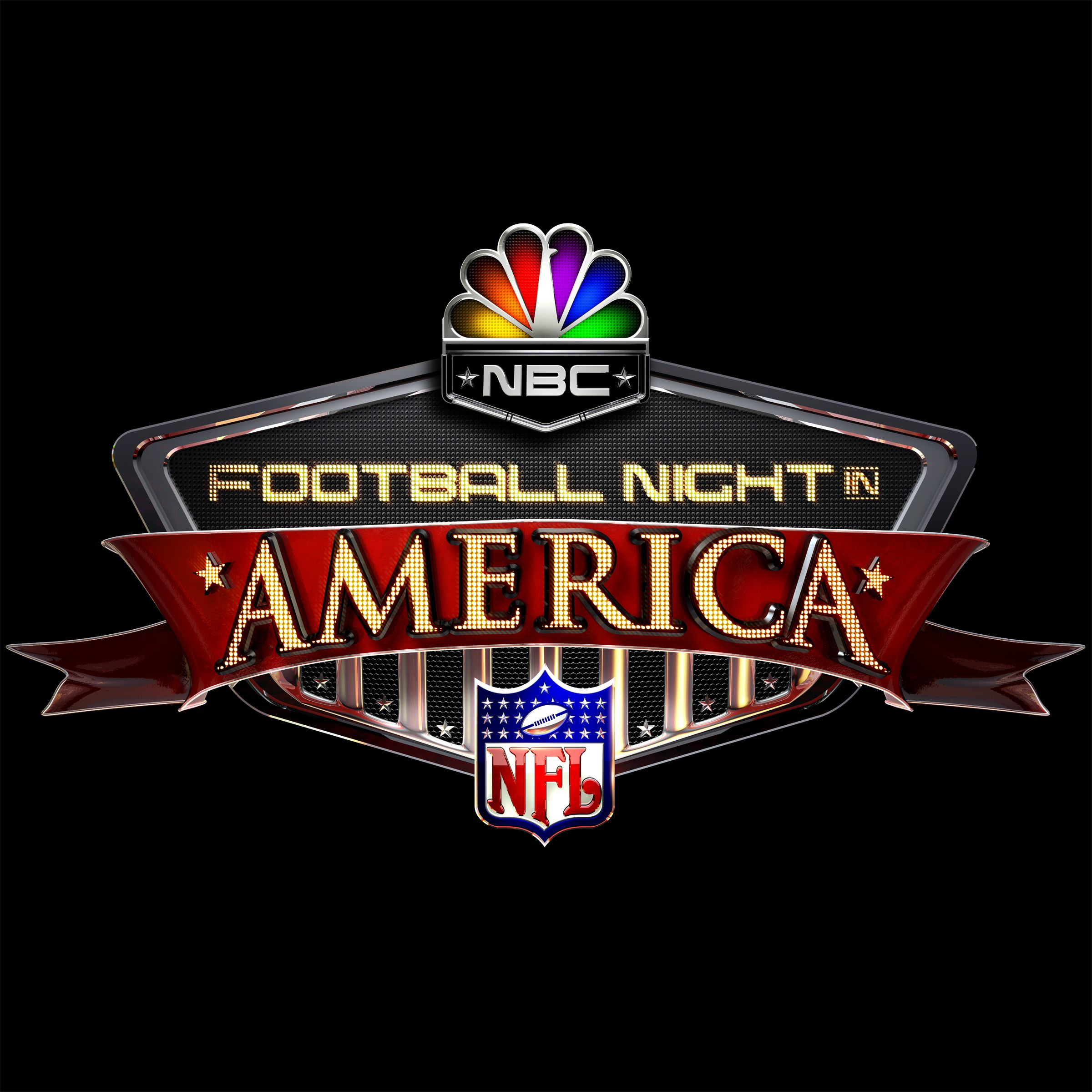 NBC Football Night in America Logo design nbc nfl