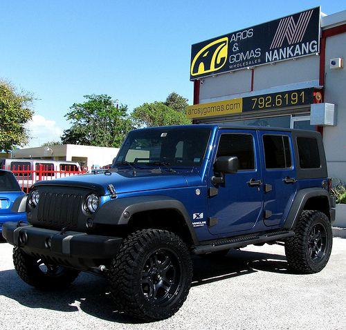 Jeep Wrangler Unlimited Blue Jeep Wrangler Jeep Wrangler