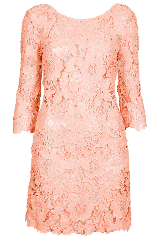 Pink Guipure Lace Kaftan - Swimwear - Clothing - Topshop | crochet ...