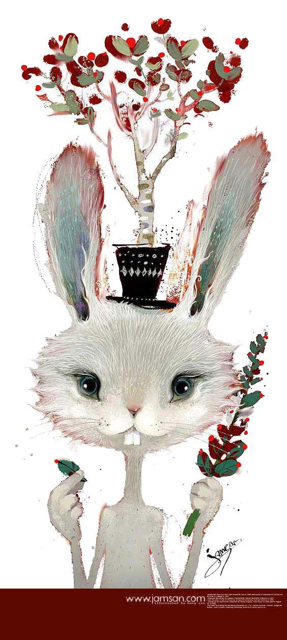 Jamsan  ~  White Rabbit