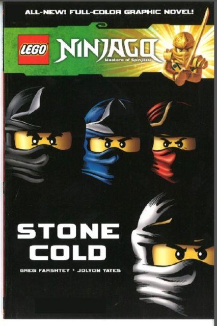 Lego Ninjago  Stone Cold Volume 7 by Greg Farshtey (9781782761983 - copy lego ninjago shadow of ronin coloring pages