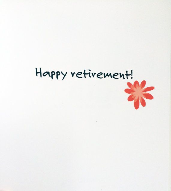 Retirement card congratulations on retirement card retirement retirement card congratulations on retirement card retirement greetings retirement wishes making your escape this listing is for one 425 x 55 note m4hsunfo