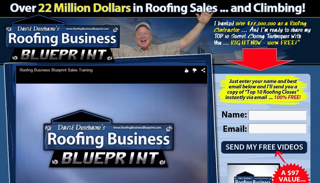 Roofing Business Blueprint Uses The Latest Software \ Marketing - copy free blueprint design app
