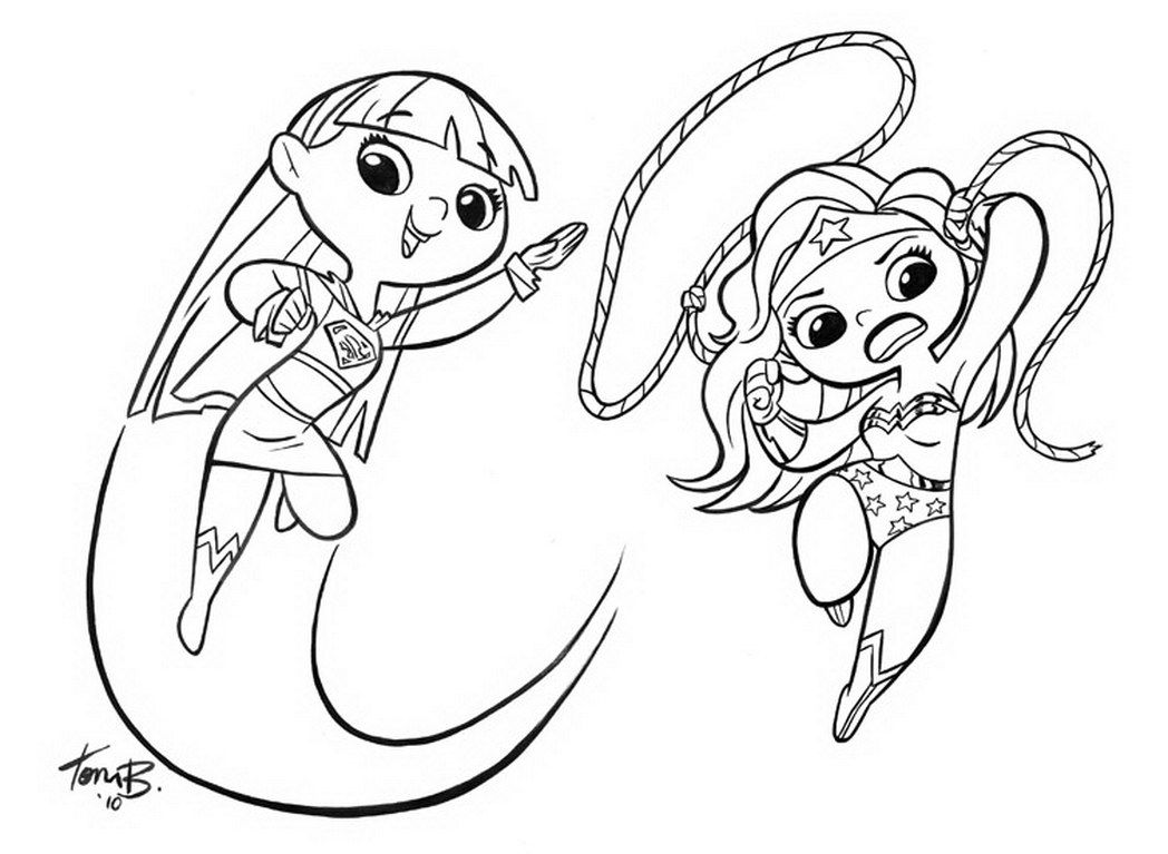 Supergirl Coloring Pages Superwoman Coloring Pages Now Batgirl ...