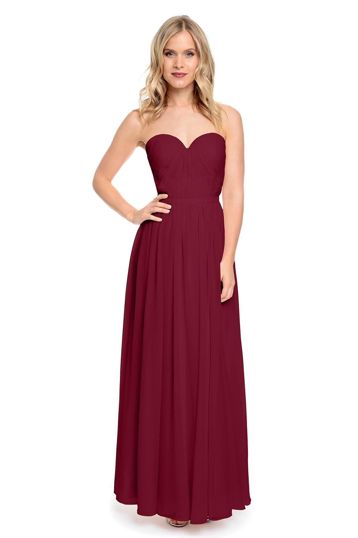Cheap 2016 wineblueburgundy bridesmaid dresses long pleated 2016 wineblueburgundy bridesmaid dresses uk long wedding guest dresses burgundy prom dresses ombrellifo Images
