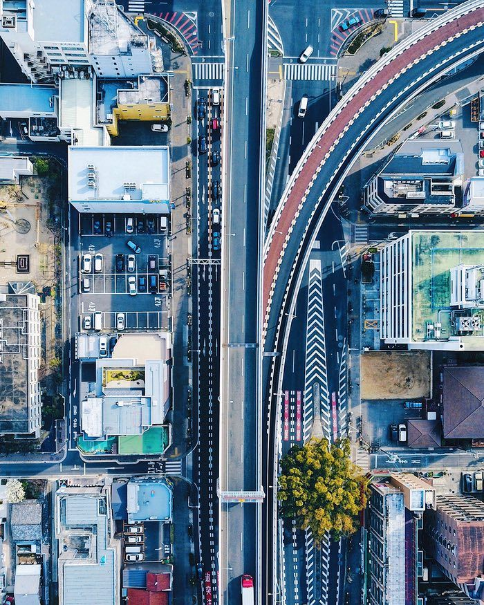The New View From Above Drone Photography Captures City Symmetry In Pictures