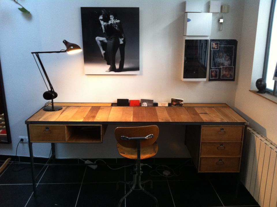 Luxe collection de bureau blanc et gris festina