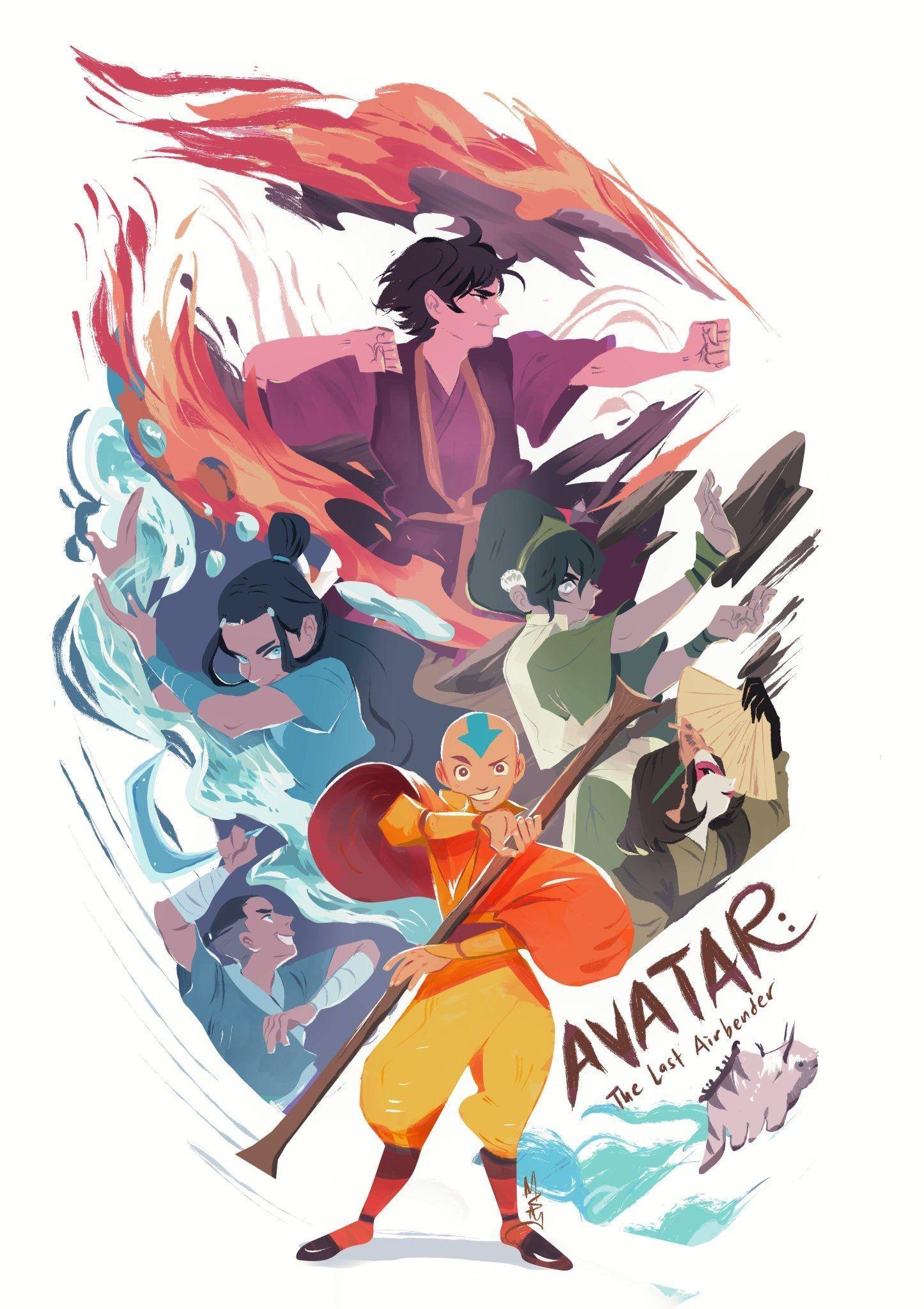 ✨✨Mai ✨✨ on Twitter: TEAM AVATAR :D… #avatarthelastairbender Avatar: The Last Airbender Aang, Katara, Toph, Zuko, Sokka #avatarthelastairbender