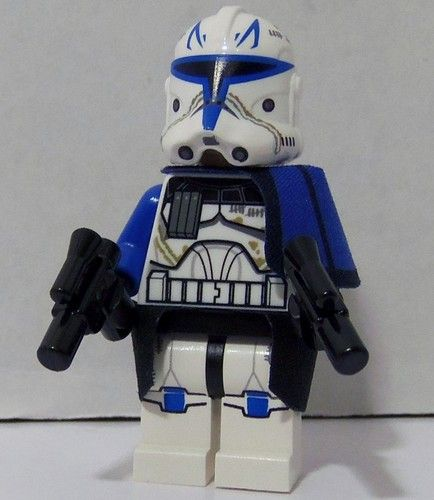 Lego Star Wars Captain Rex Clone Trooper 2013 Phase Ii 2 Blue