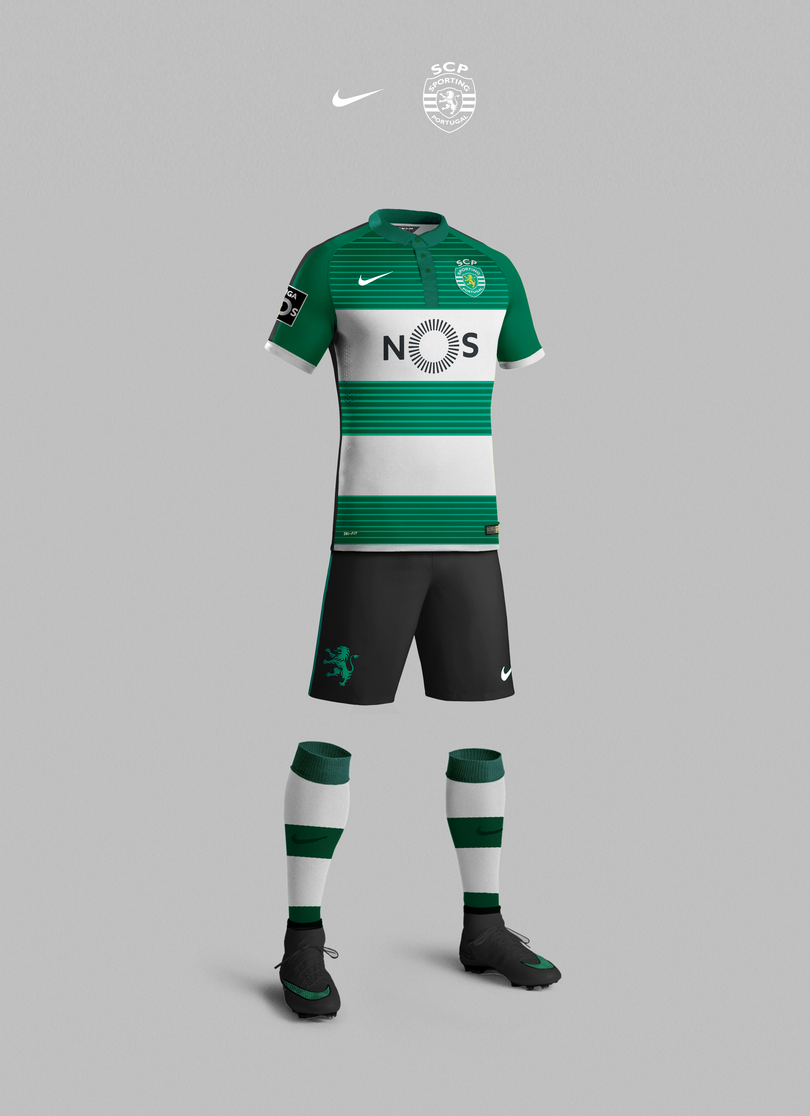 """45f3e7ce594 Check out this  Behance project  """"Sporting CP 2017 2018"""