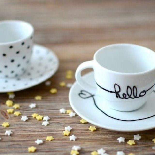 20 id es pour customiser un mug id e tasse et customisation. Black Bedroom Furniture Sets. Home Design Ideas