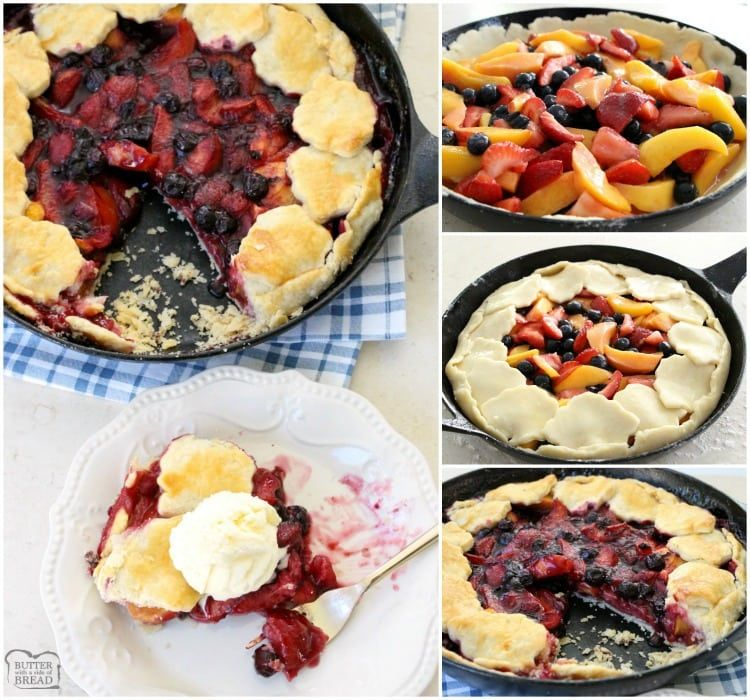 Easy Berry Peach Pie Is The Perfect Summer Pie Recipe
