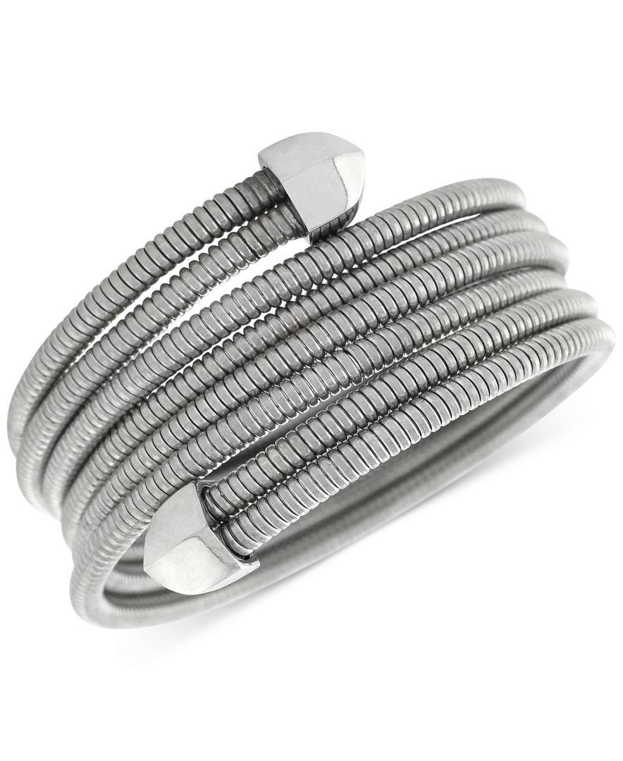 BCBGeneration Coil Stretch Wrap Bracelet