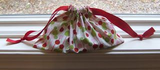 Gray Matters: Sew Much Fun - Drawstring Gift Bags