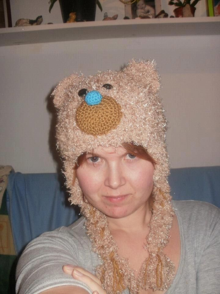 Crochet TeddyHat  87707daa6b