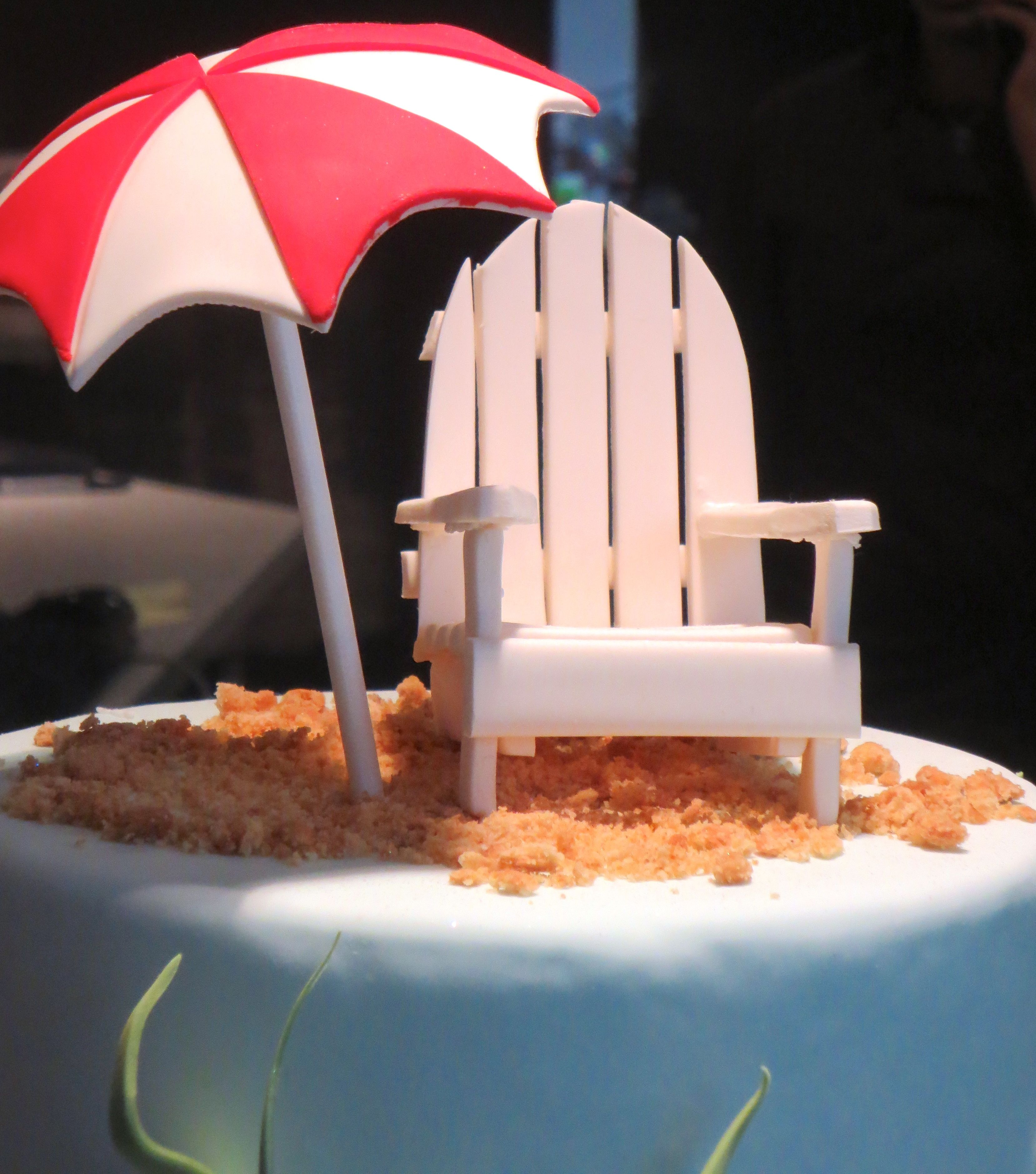 Quick Tutorial On How To Make Gumpaste Umbrella All Things Baking