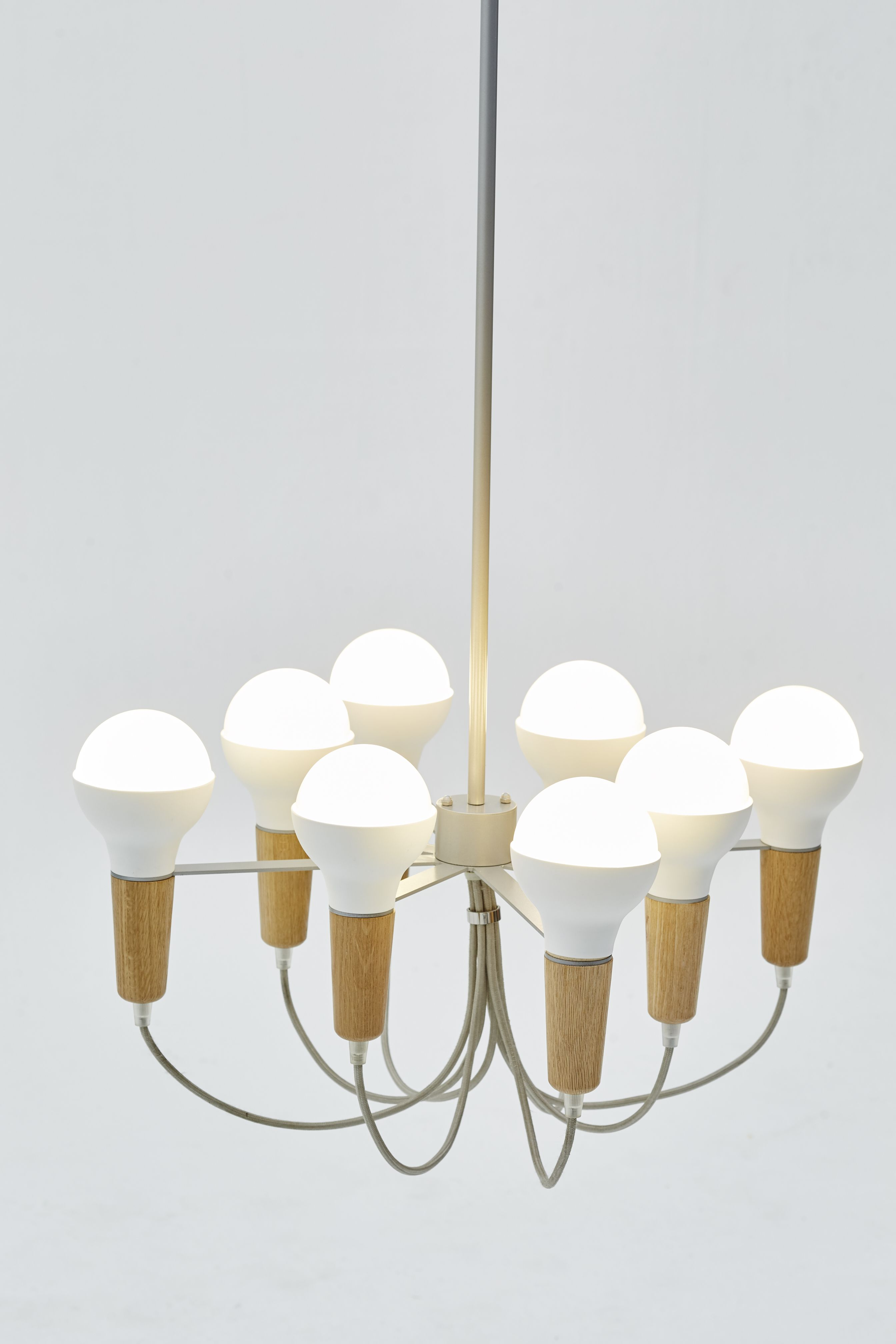 A new twist to the scoop pendants come the scoop chandelier by a new twist to the scoop pendants come the scoop chandelier by stephanie ng design arubaitofo Choice Image