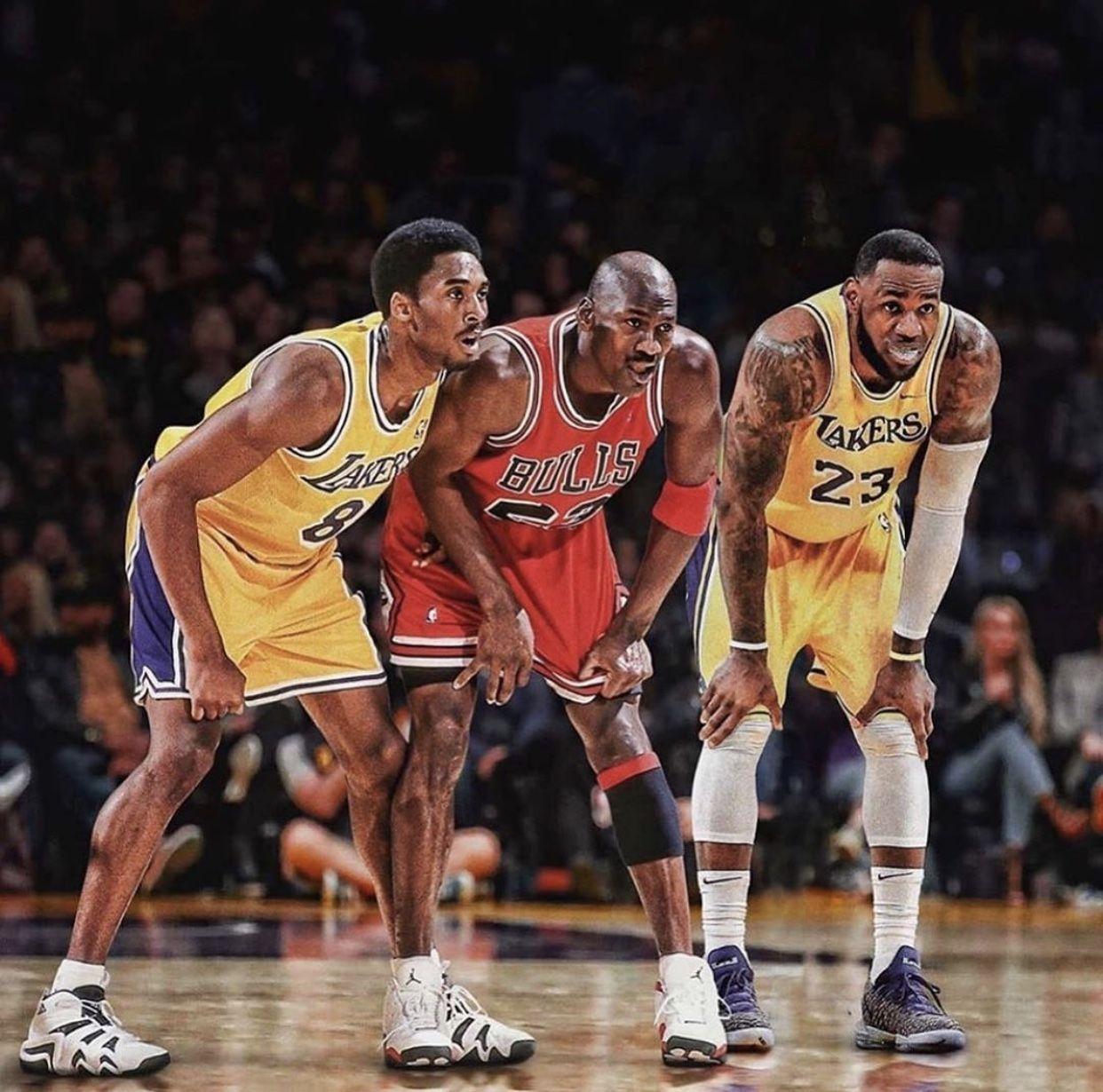 Lebron james, Kobe bryant pictures