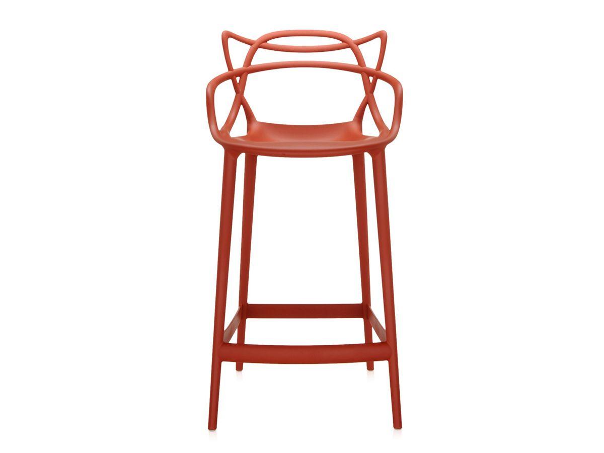 Kartell Masters Bar Stool Rusty Orange | Barstühle