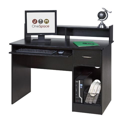 Found It At Wayfair Essential Computer Desk With Pull Out Keyboard Black Computer Desk Small Computer Desk Black Desk
