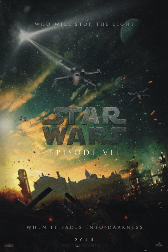10 Star Wars Episode VII Fan Posters That Are Actually Out Of This World