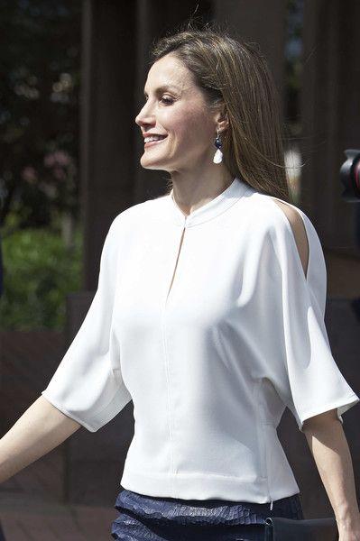 Königin Letizia von Spanien Fotos Fotos: Spanish Royals Visit Tenerife   – Queen Letizia of Spain – Royal Style