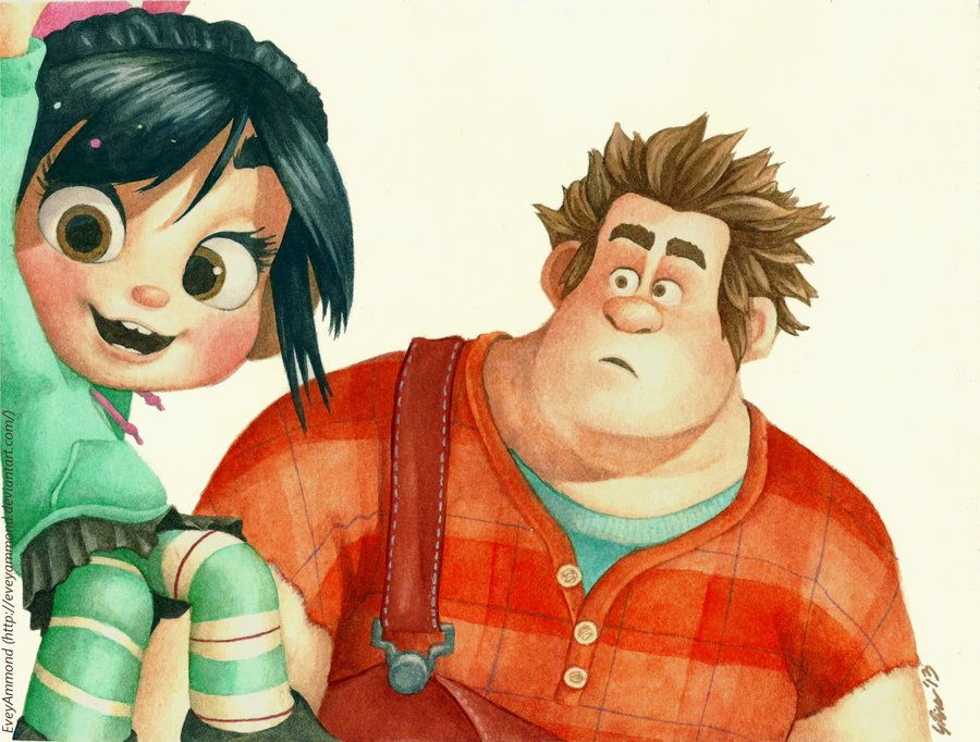 ralph and vanellope relationship advice