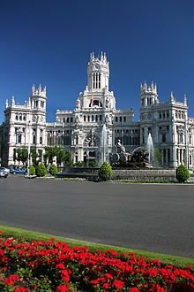 Plaza De Cibeles Wikipedia The Free Encyclopedia Madrid